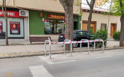 Finaliza la instalación de aparca bicis y patinetes en las calles de Tomelloso, la primera actuación incluida en el PMUS