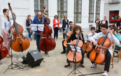 Tomelloso celebra con un bonito acto musical el Día de Europa.
