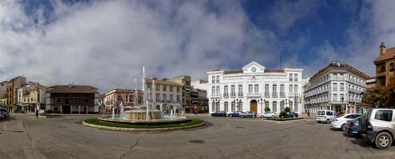Plaza de España, Tomelloso, 2018.
