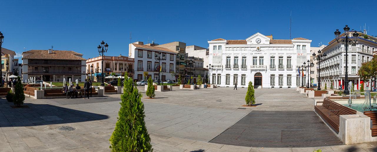 Plaza de España, Tomelloso, 2019.