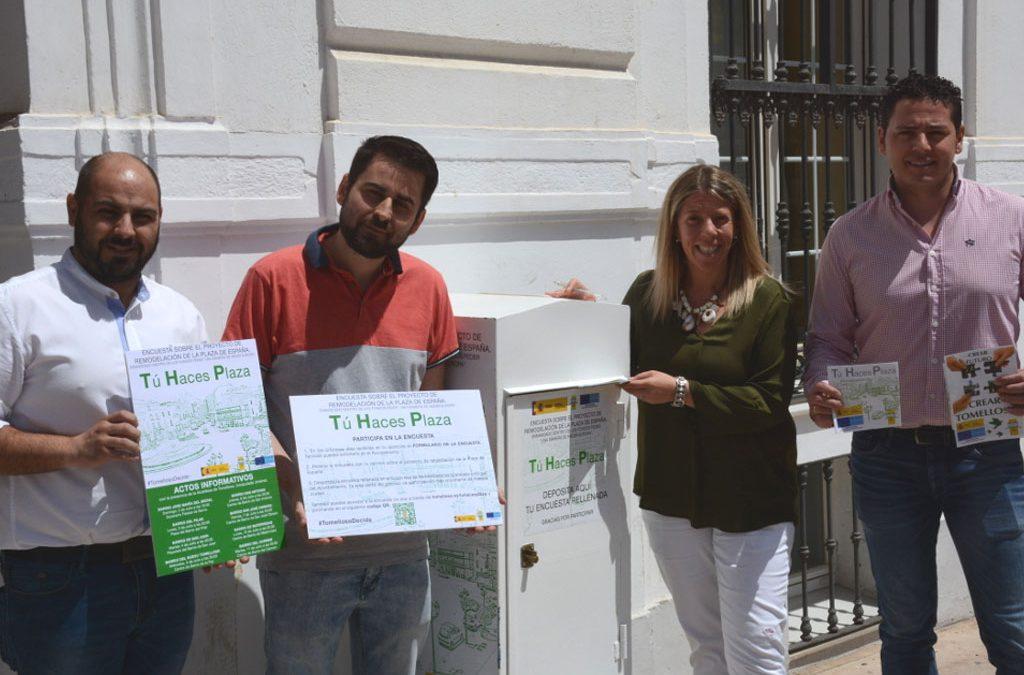 Los tomelloseros serán partícipes del proyecto de la plaza de España.